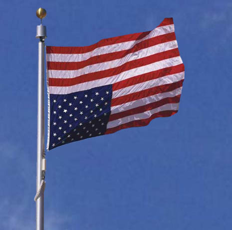 20 us flagpole tornado flagpole the answer is an upside down american flag preferable flying high above the rubble nylon and not polyester 2 us flag material is a must since nylon can sciox Image collections
